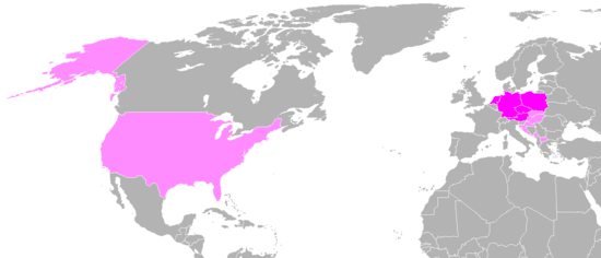 T-Mobile-Weltkarte